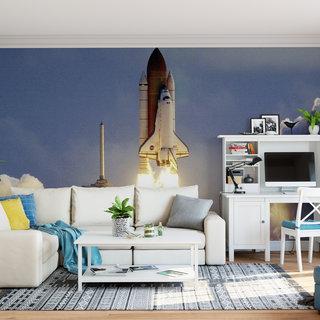 Self-adhesive photo wallpaper custom size - NASA Spaceshuttle 1
