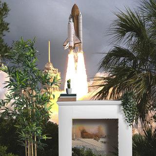 Selbstklebende Fototapete angepasst - NASA Spaceshuttle 3