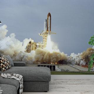 Selbstklebende Fototapete angepasst - NASA Spaceshuttle 4