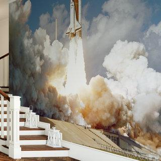 Zelfklevend fotobehang op maat - NASA Spaceshuttle 5
