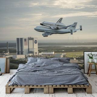 Self-adhesive photo wallpaper custom size - NASA Spaceshuttle 6