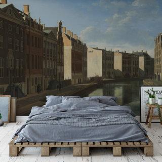Zelfklevend fotobehang op maat - Gezicht op de Gouden Bocht, Gerrit Adriaensz
