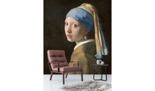 Self-adhesive photo wallpaper custom size - Girl with a pearl earring, Johannes Vermeer