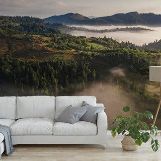 Self-adhesive photo wallpaper custom size - Morning fog