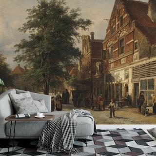 Self-adhesive photo wallpaper custom size - Zuiderhavendijk - Enkhuizen