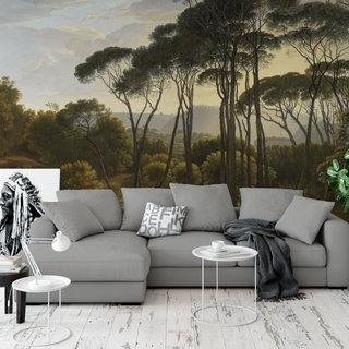 Selbstklebende Fototapete angepasst - Italienische Landschaft von Hendrik Voogd