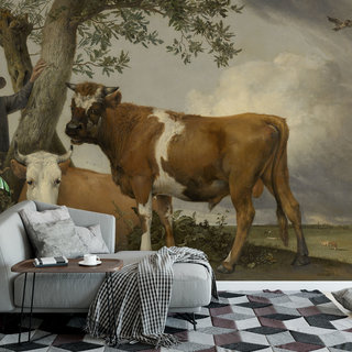 Self-adhesive photo wallpaper custom size - The Bull by Paulus Potter