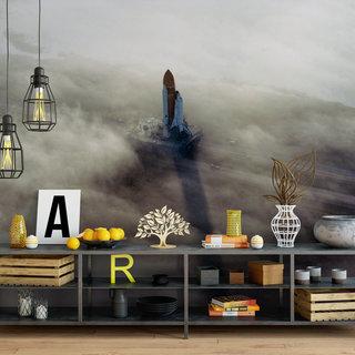 Self-adhesive photo wallpaper custom size - NASA Spaceshuttle 8