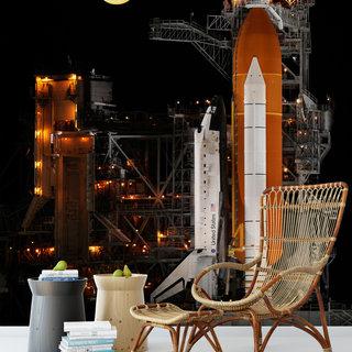 Selbstklebende Fototapete angepasst - NASA Spaceshuttle 10