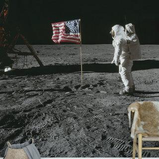 Selbstklebende Fototapete angepasst - NASA 6