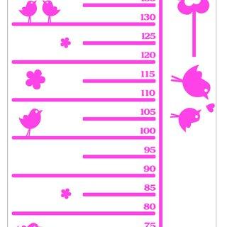 Wandaufkleber - Lineal für Kinder mit Ihrem eigenen Namen 2