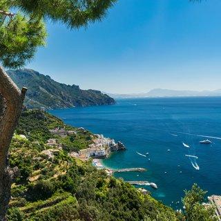 Selbstklebende Fototapete angepasst -  Amalfiküste 1