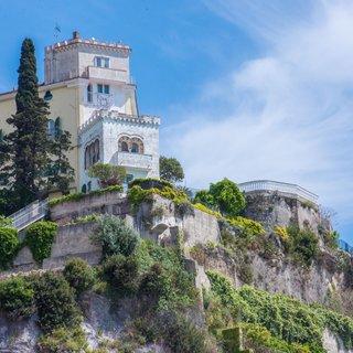 Selbstklebende Fototapete angepasst -  Amalfiküste 2