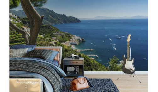 Zelfklevend fotobehang op maat - Amalfi kust 1