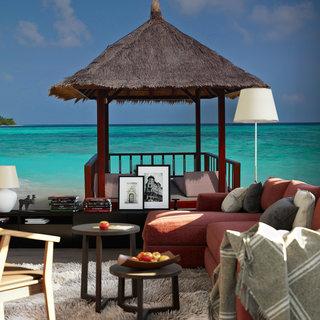 Selbstklebende Fototapete angepasst -  Malediven 2