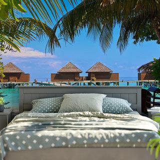 Selbstklebende Fototapete angepasst -  Malediven 3