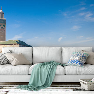 Zelfklevend fotobehang op maat - Casablanca Marokko
