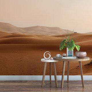 Selbstklebende Fototapete angepasst - Wüste Marokko 1