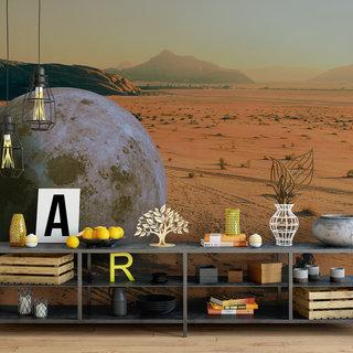 Selbstklebende Fototapete angepasst - Wüste Marokko 2
