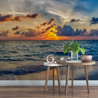 Self-adhesive photo wallpaper custom size - Sunset Morocco