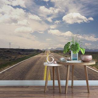Selbstklebende Fototapete angepasst - Route 66 America