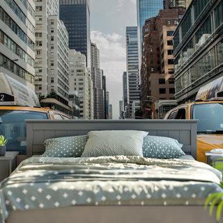 Selbstklebende Fototapete angepasst - Taxi America 2