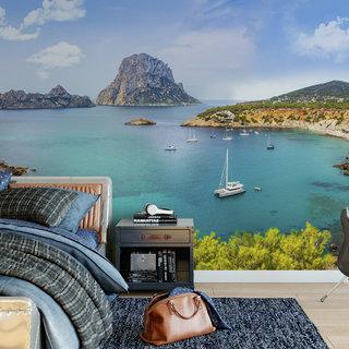 Self-adhesive photo wallpaper custom size - Ibiza