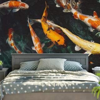 Zelfklevend fotobehang op maat - Onder water 4