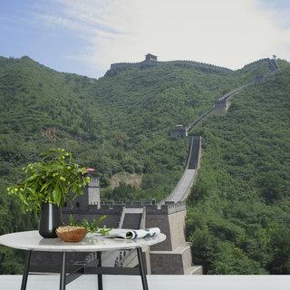 Selbstklebende Fototapete angepasst - Chinesische Mauer