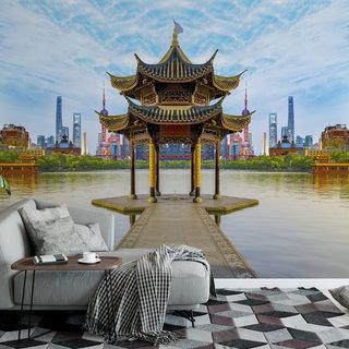 Selbstklebende Fototapete angepasst - Peking