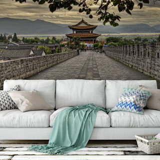 Self-adhesive photo wallpaper custom size - Temple