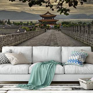 Zelfklevend fotobehang op maat - Tempel