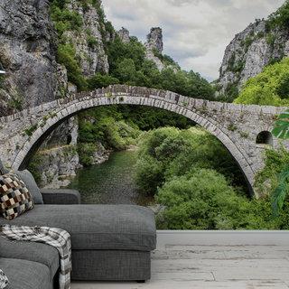 Selbstklebende Fototapete angepasst - Brücke