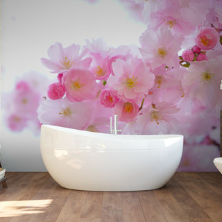 Self-adhesive photo wallpaper custom size - Japanese Cherry tree 1