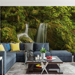 Self-adhesive photo wallpaper custom size - Waterfall 5