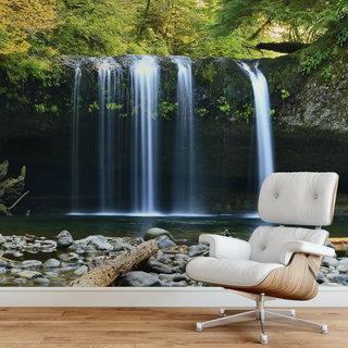 Selbstklebende Fototapete angepasst - Wasserfall 7