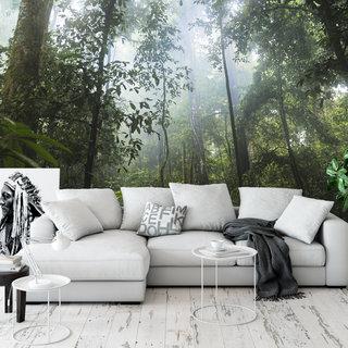 Selbstklebende Fototapete angepasst - Dschungel 1