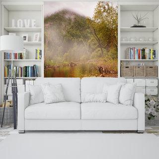 Selbstklebende Fototapete angepasst - Dschungel 3