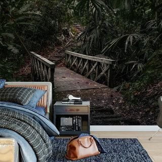 Selbstklebende Fototapete angepasst - Dschungel 5