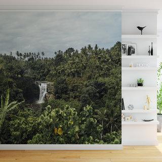 Selbstklebende Fototapete angepasst - Dschungel 7