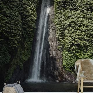 Selbstklebende Fototapete angepasst - Wasserfall 10