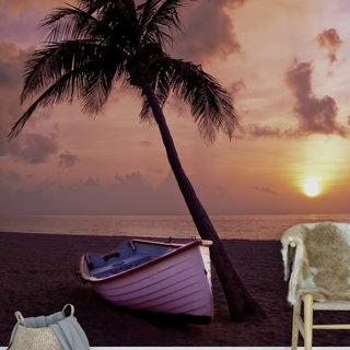 Zelfklevend fotobehang op maat - Palmboom 1