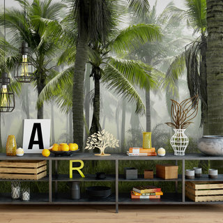 Self-adhesive photo wallpaper custom size -  Palm tree 2
