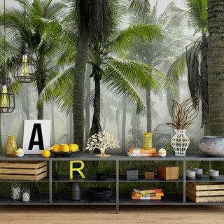 Zelfklevend fotobehang op maat - Palmboom 2