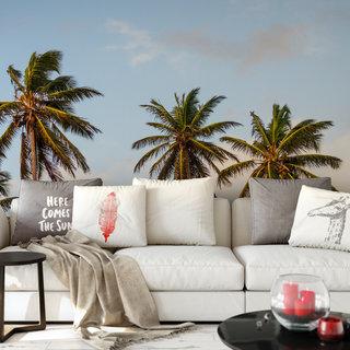 Zelfklevend fotobehang op maat - Palmboom 3