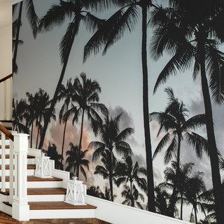 Zelfklevend fotobehang op maat - Palmboom 6