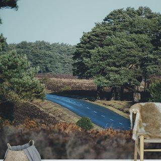 Selbstklebende Fototapete angepasst -  Strandlandschaft