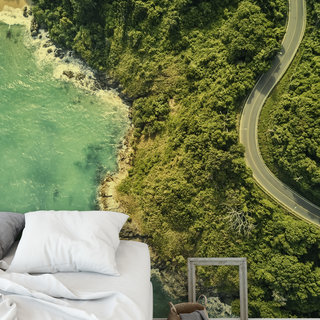 Self-adhesive photo wallpaper custom size - Coastline Thailand