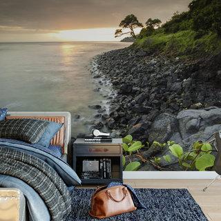 Self-adhesive photo wallpaper custom size - Coastline