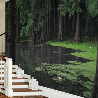 Selbstklebende Fototapete angepasst -  Wald 3